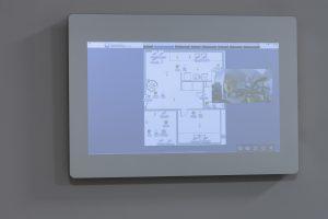 Smart Mirror - panel sterowania