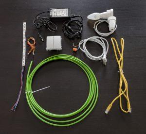 Sprzęt do kupienia w sklepie elektrycznym lub markecie budowlanym